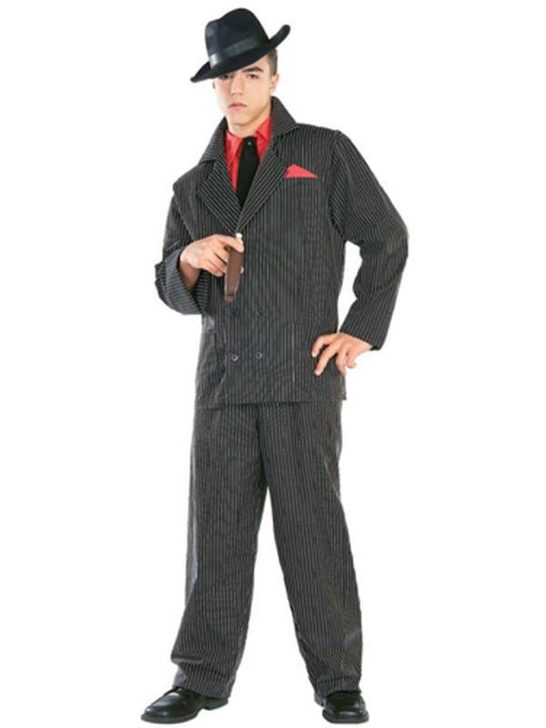 Gangster Premium Costume - Size Xl - Jokers Costume Mega Store