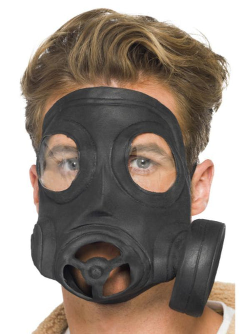 Gas Mask, Latex-Masks - Latex-Jokers Costume Hire and Sales Mega Store