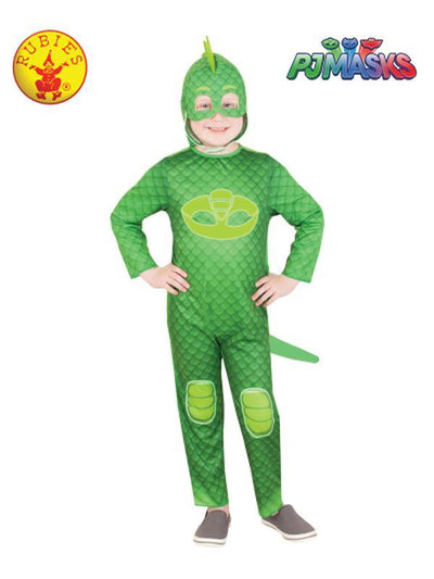 GEKKO GLOW IN THE DARK COSTUME - SIZE 3-5-Costumes - Boys-Jokers Costume Hire and Sales Mega Store