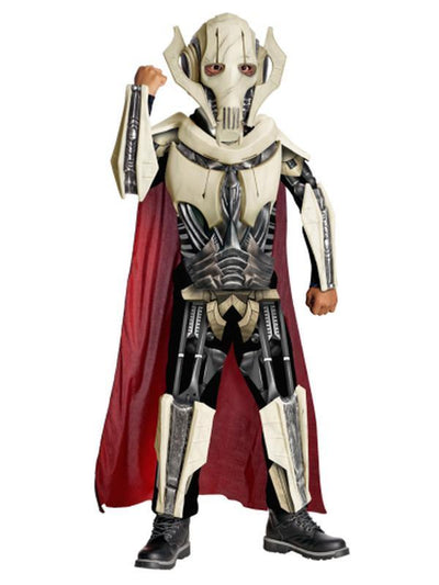 General Grievous Star Wars Deluxe - Size S-Costumes - Boys-Jokers Costume Hire and Sales Mega Store