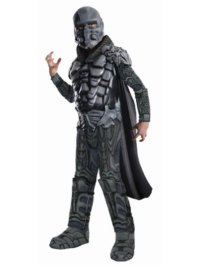 General Zod Deluxe Child - Size M-Costumes - Boys-Jokers Costume Hire and Sales Mega Store