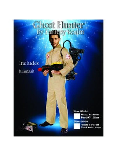 Ghost Buster-Costumes - Mens-Jokers Costume Hire and Sales Mega Store