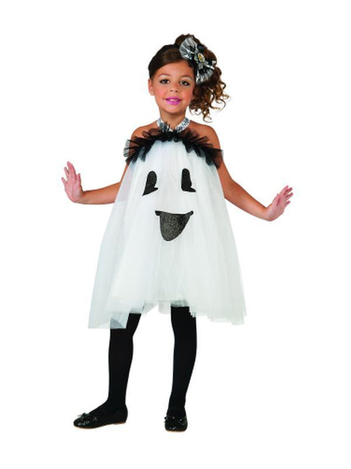 Ghost Tutu - Size M-Costumes - Girls-Jokers Costume Hire and Sales Mega Store