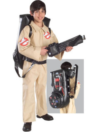 Ghostbusters - Size L-Costumes - Boys-Jokers Costume Hire and Sales Mega Store
