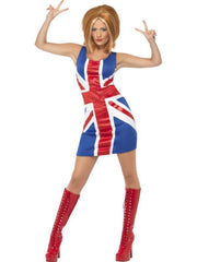 Ginger Power, 1990s Icon Costume-Costumes - Women-Jokers Costume Hire and Sales Mega Store