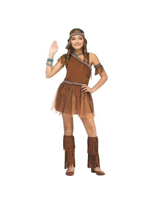 Give Thanks Tween - 8-10-Costumes - Girls-Jokers Costume Hire and Sales Mega Store