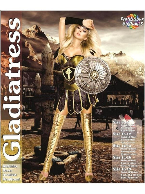 Gladiatress-Costumes - Women-Jokers Costume Hire and Sales Mega Store