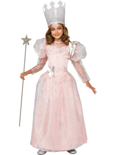 Glinda The Good Witch Deluxe Costume - Size M-Costumes - Girls-Jokers Costume Hire and Sales Mega Store