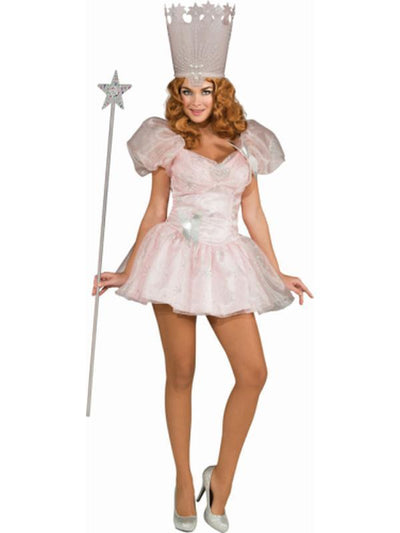 Glinda The Good Witch Secret Wishes - Size S-Costumes - Women-Jokers Costume Hire and Sales Mega Store