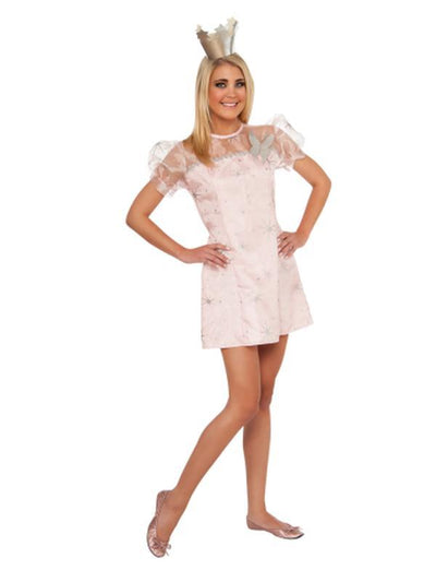 Glinda The Good Witch Young Adult - Size S-Costumes - Women-Jokers Costume Hire and Sales Mega Store