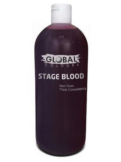 Global Stage Blood - 1 Litre-Make up and Special FX-Jokers Costume Hire and Sales Mega Store