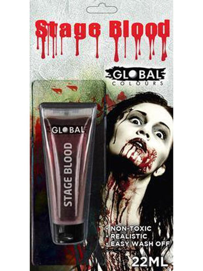 Global Stage Blood - 22ml-Make up and Special FX-Jokers Costume Hire and Sales Mega Store