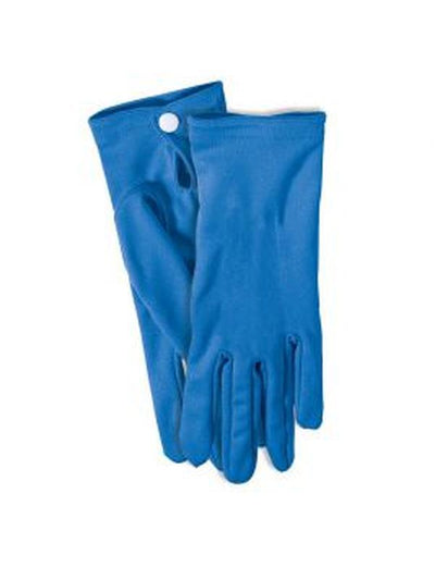 Gloves Blue Adult-Jokers Costume Mega Store
