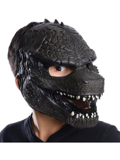 Godzilla 3/4 Vinyl Mask Adult-Masks - Latex-Jokers Costume Hire and Sales Mega Store