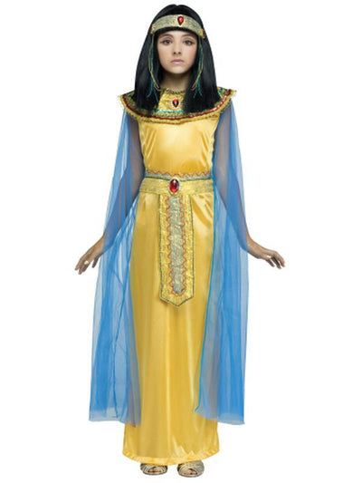 Golden Cleo Child Costume-Costumes - Girls-Jokers Costume Hire and Sales Mega Store
