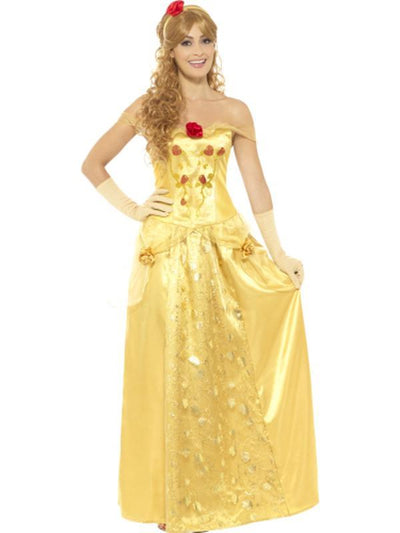 Golden Princess Costume-Costumes - Women-Jokers Costume Hire and Sales Mega Store