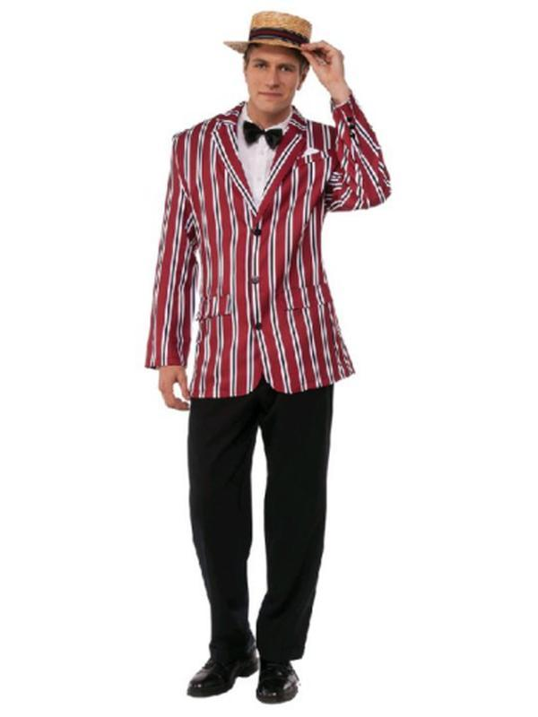 Good Time Sam Roaring 20'S Costume - Size Std - Jokers Costume Mega Store