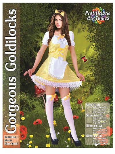 Gorgeous Goldilocks-Costumes - Women-Jokers Costume Hire and Sales Mega Store