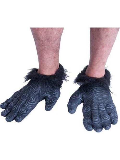 **Gorilla Feet**-Leg Wear-Jokers Costume Hire and Sales Mega Store