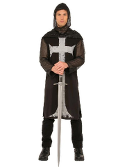Gothic Knight Costume - Size Std-Costumes - Mens-Jokers Costume Hire and Sales Mega Store