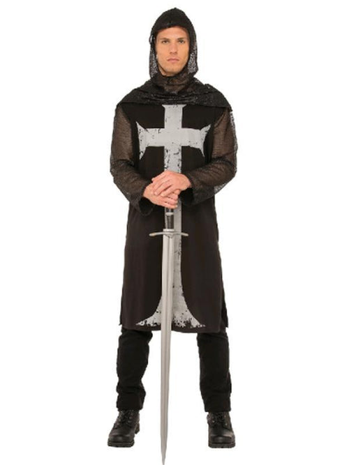 Gothic Knight Costume - Size Xl-Costumes - Mens-Jokers Costume Hire and Sales Mega Store