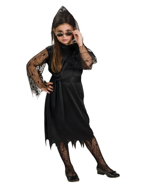 Gothic Lace Vampiress - Size S-Costumes - Girls-Jokers Costume Hire and Sales Mega Store