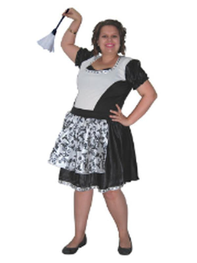 Gothic Maid - Adult Plus - XXL-Costumes - Women-Jokers Costume Hire and Sales Mega Store