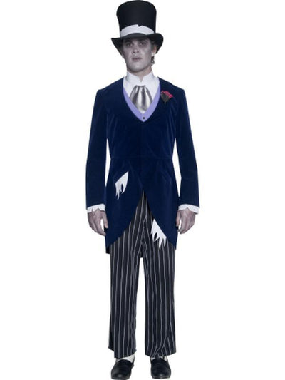 Gothic Manor Groom Costume-Costumes - Mens-Jokers Costume Hire and Sales Mega Store