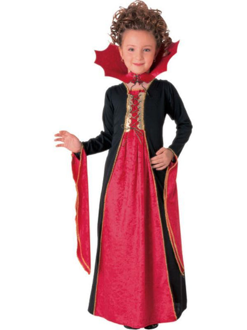 Gothic Vampiress - Size S-Costumes - Girls-Jokers Costume Hire and Sales Mega Store