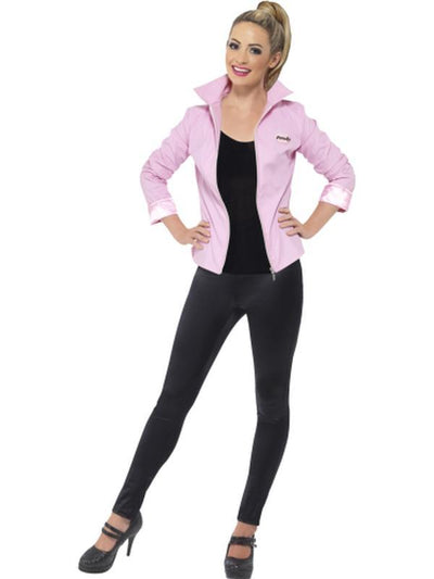 Grease Deluxe Pink Ladies Jacket-Costumes - Women-Jokers Costume Hire and Sales Mega Store