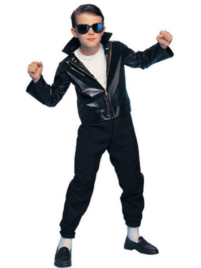 Greaser - Size S-Costumes - Boys-Jokers Costume Hire and Sales Mega Store