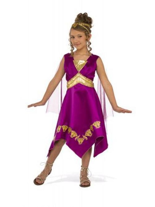 Grecian Goddess Costume - Size S-Costumes - Girls-Jokers Costume Hire and Sales Mega Store