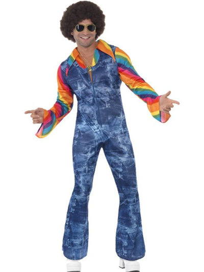 Groovier Dancer Costume-Costumes - Mens-Jokers Costume Hire and Sales Mega Store