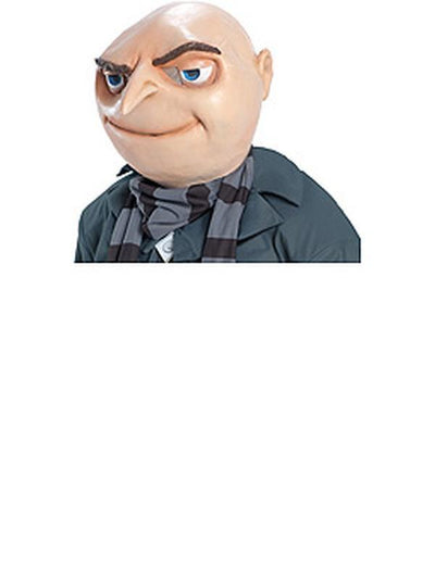 Gru Adult Mask-Masks - Latex-Jokers Costume Hire and Sales Mega Store