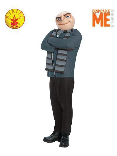 GRU ADULT - SIZE STD-Costumes - Mens-Jokers Costume Hire and Sales Mega Store