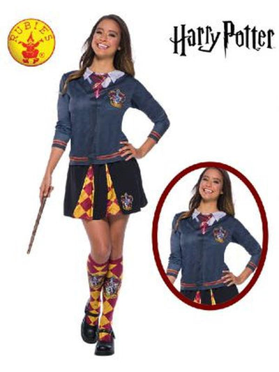 GRYFFINDOR COSTUME TOP ADULT - SIZE SMALL-Costumes - Women-Jokers Costume Hire and Sales Mega Store