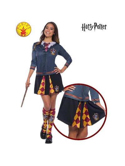 GRYFFINDOR SKIRT, ADULT-Costumes - Women-Jokers Costume Hire and Sales Mega Store