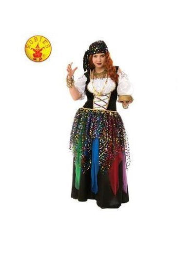GYPSY COSTUME - SIZE PLUS-Costumes - Women-Jokers Costume Mega Store