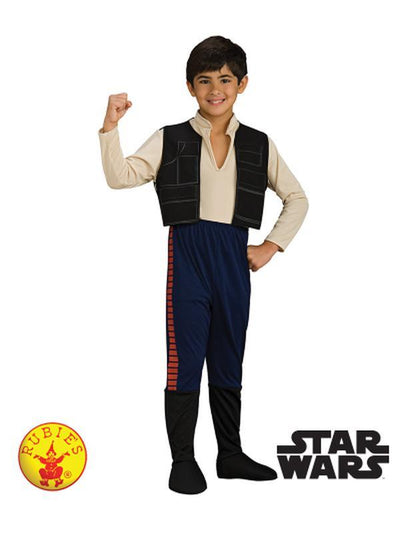 HAN SOLO DELUXE COSTUME - SIZE M-Costumes - Boys-Jokers Costume Hire and Sales Mega Store