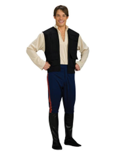 Han Solo Deluxe - Size Xl-Costumes - Mens-Jokers Costume Hire and Sales Mega Store