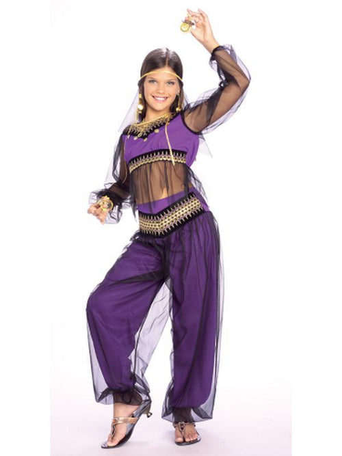 Harem Princess - Size L-Costumes - Girls-Jokers Costume Hire and Sales Mega Store