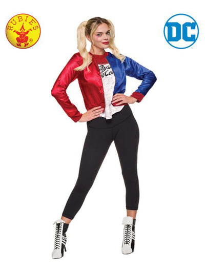 HARLEY QUINN COSTUME KIT - SIZE S-Costumes - Women-Jokers Costume Hire and Sales Mega Store