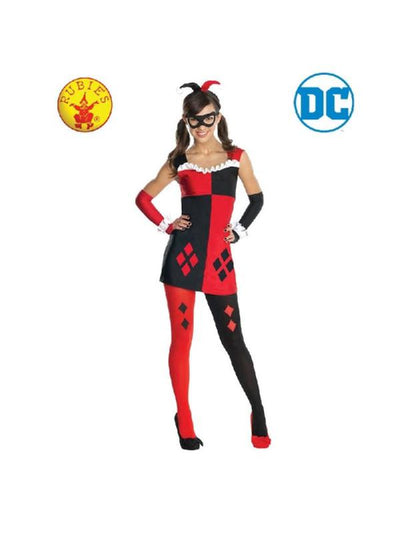 Harley Quinn Costume - Size S Tween-Costumes - Girls-Jokers Costume Hire and Sales Mega Store