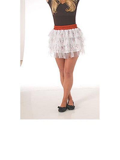Harley Quinn Skirt Adult - Size Std-Costumes - Women-Jokers Costume Hire and Sales Mega Store