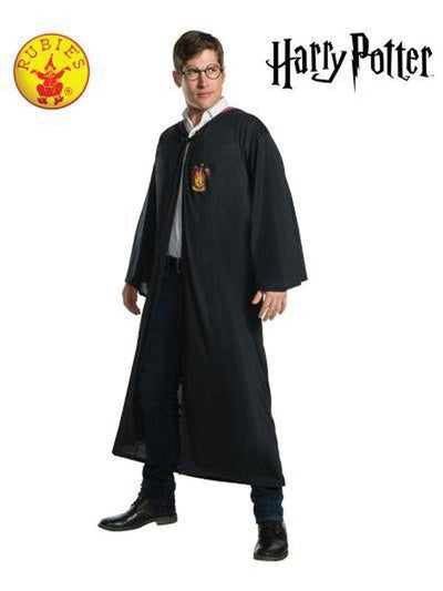 HARRY POTTER CLASSIC ADULT ROBE - SIZE STD-Costumes - Mens-Jokers Costume Hire and Sales Mega Store