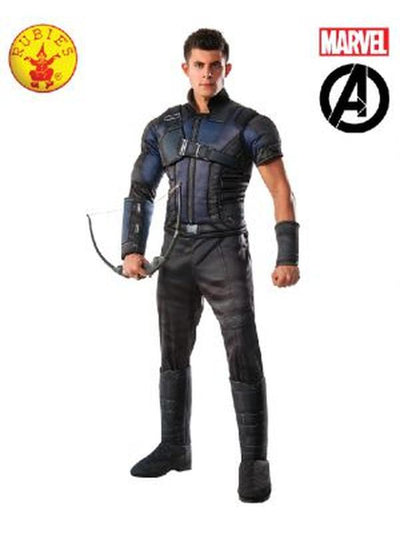 HAWKEYE DELUXE COSTUME-Costumes - Mens-Jokers Costume Hire and Sales Mega Store