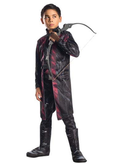 Hawkeye Deluxe - Size S-Costumes - Boys-Jokers Costume Hire and Sales Mega Store