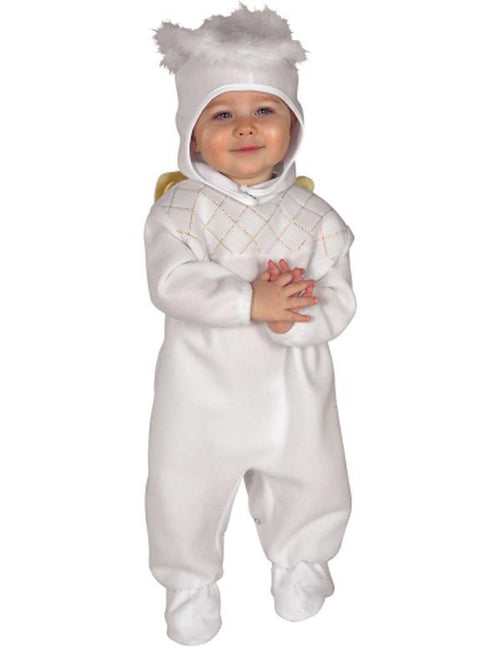 Heavenly Angel - Size 0-6 Months-Costumes - Girls-Jokers Costume Hire and Sales Mega Store