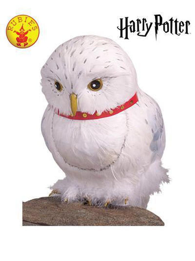HEDWIG THE OWL PROP-Costume Accessories-Jokers Costume Hire and Sales Mega Store
