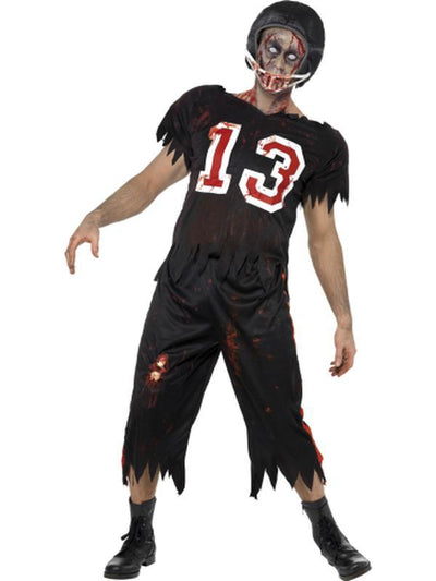 High School Horror American Footballer Costume-Costumes - Mens-Jokers Costume Hire and Sales Mega Store